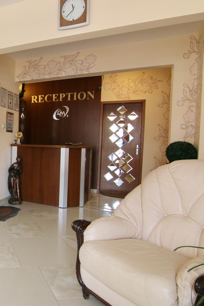 Hotel Vermona recepcia